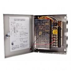 SAF-1209-10A.Блок питания на 9 выходов,сила блока 10А