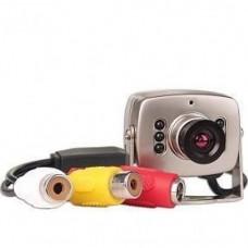 SAF-Mini 02. Внутренняя камера с микрофоном. 380ТВл, 0,8Лк