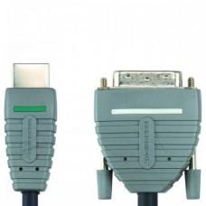 2.0м HDMI-DVI-D Bandridge BVL1102