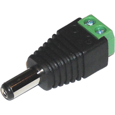 SAF-PW01. Разъем питания видеонаблюдения под винт.