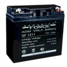 АКБ 17А/ч. Аккумуляторная батарея 12В 17Ач.