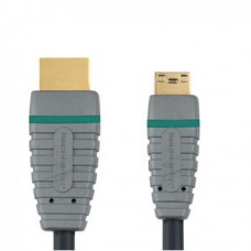 2.0м HDMI -mini HDMI  Bandridge BVL1502