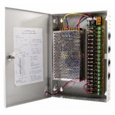 SAF-1218-10A. Блок питания на 18 выходов,сила блока 10А