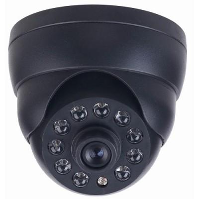 SAF-AHD310.HD720P.(Черная). Купольная камера AHD, 3.6мм, ИК подсветка до 25м.