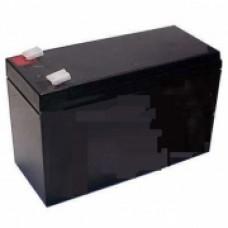 АКБ 7Ач. Аккумуляторная пластиковая батарея напряжение 12B.