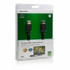 15.0 м HDMI  Belkin F3Y021bf15M HIGH SPEED W/ETHERNE