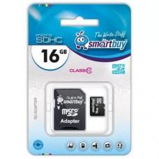 SmartBuy microSDHC Сlass 10 16GB