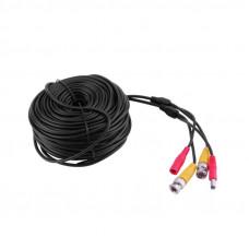 Готовый кабель Питание + BNC 18 метров.